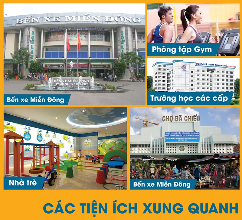 tien ich xung quanh can ho binh thanh